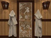 """Дверь DoorWood Art """"Девушка в цветах"""" (бронза) 190х70"""