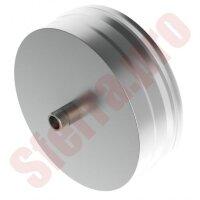 Заглушка (с конденсатоотводом) 180 1/2 ЖС 0,5 мм