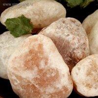 Соль гималайская розовая галька 50-120 мм 2 кг
