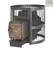 Банная печь Везувий Легенда Стандарт 28, ВЧ, дровяная
